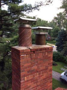 chimney fire damage