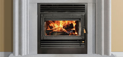 installation of a wood stove
