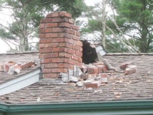damage to chimneys - chimneys.com