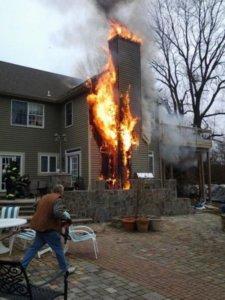 Chimney Fire - chimneys.com